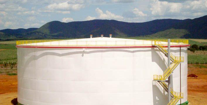 Reservatório de Etanol de 20.000m³ | Jales Machado